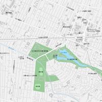 東京 三鷹・吉祥寺 ベクター地図データ(eps) 日本語