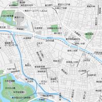 東京 千代田区北 ベクター地図データ(eps) 日本語