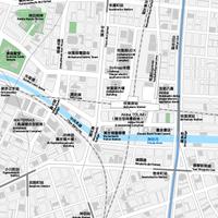 東京 秋葉原 ベクター地図データ(eps) 繁体語/英語 並記版