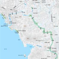静岡 沼津・三島 ベクター地図データ(eps) 日本語