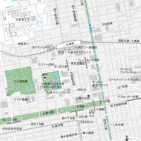 北海道 札幌 ベクター地図データ(eps) 日本語