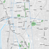愛知 名古屋広域 ベクター地図データ(eps) 日本語