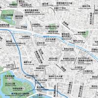 東京 千代田区北 ベクター地図データ(eps) 繁体語/英語 並記版