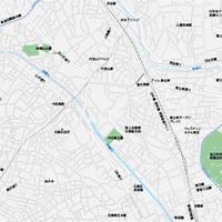 東京 恵比寿・代官山・中目黒 マップ PDFデータ