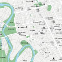 宮城 仙台 ベクター地図データ(eps) 日本語