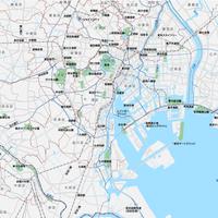 東京 広域 ベクター地図データ(eps) 日本語