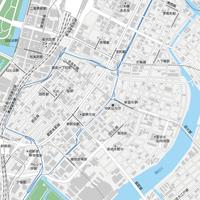 東京 東京駅・銀座・日本橋 マップ PDFデータ