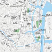 東京 品川 ベクター地図データ(eps) 日本語/英語 並記版