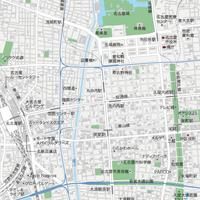 愛知 名古屋・栄・久屋大通・大須 マップ PDFデータ