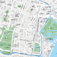 東京 新橋・浜松町 マップ PDFデータ