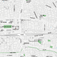 東京 中野・新井薬師 マップ PDFデータ