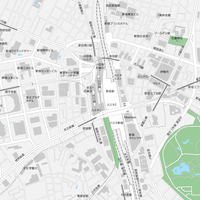 東京 新宿 マップ PDFデータ