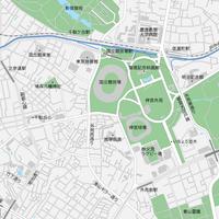 東京 神宮外苑 マップ PDFデータ