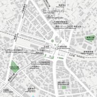 東京 大塚 ベクター地図データ(eps) 日本語/英語 並記版