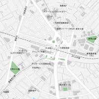 東京 大塚 ベクター地図データ(eps) 日本語