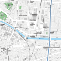 Tokyo Akihabara - Editable Vector maps