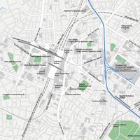 Tokyo Ikebukuro - Editable Vector maps