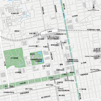 北海道 札幌 - 日本矢量地圖設計元素