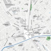 Tokyo Shibuya - Editable Vector maps