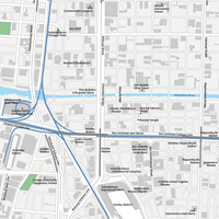 Osaka Namba - Editable Vector maps