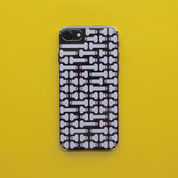 Dick pattern iPhone case