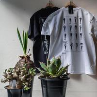 ICE CREAM_Tシャツ【BLACK(ボディ黒×プリント白)】