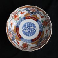 P-73  古伊万里 KOIMARI 染錦 膾皿