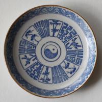 SP-180  古伊万里 KOIMARI 印判 太極文 豆皿 5枚セット