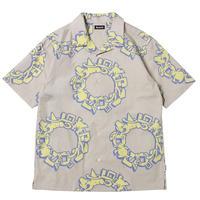 SAYHELLO / Zero Shirts -Grey- / 半袖シャツ