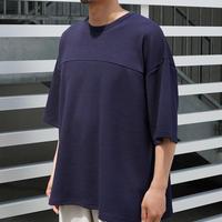 FAKIE STANCE / Hockey T-Shirt -Navy- / 半袖Tシャツ