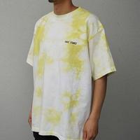 FAKIE STANCE / Tie dye Yellow Tee -Tie Dye yellow- / タイダイTシャツ