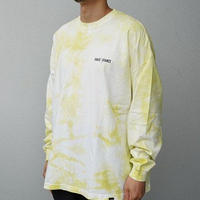 FAKIE STANCE / Tie dye Yellow Tee -Tie Dye yellow- / タイダイロンティー