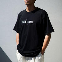 FAKIE STANCE Tee -black- / 半袖Tシャツ