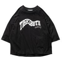 TIGHTBOOTH / ACID LOGO 7 SLEEVE T-SHIRT Black / 7分袖Tシャツ