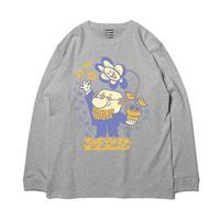 SAYHELLO / All Music L/S Tee  -Mix Gray- / ロンティー