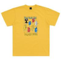 ONLYNY / Paper Run T-Shirt -Canary- / 半袖Tシャツ