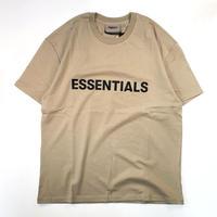 FOG ESSENTIALS  FRONT LOGO T-Shirt - tan- / フロント ロゴ 半袖 Tシャツ