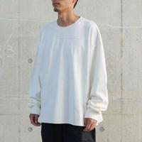 FAKIESTANCE / Heavy Tee Long Sleeve -white / 長袖カットソー