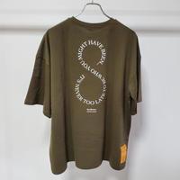 OTOGIBANASHI / すろーばっくtee (adult) -khaki- / 半袖Tシャツ