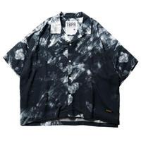 TIGHTBOOTH / TBPR / COLOR WAVE ALOHA -Black - / 半袖シャツ