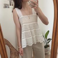 cotton sleeve blouse