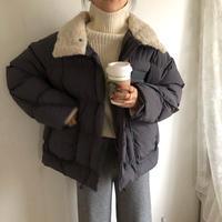 오리 패딩 duck down coat (gray)