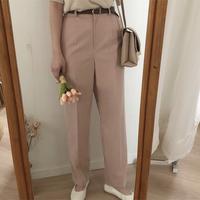straight slacks pants