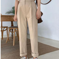 ss cotton slacks