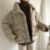 오리 패딩 duck down coat (baige)