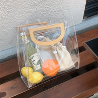 clear shopper bag