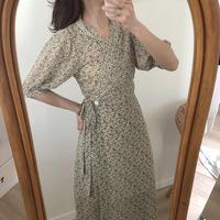 잔디꽃 rap dress