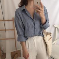 basic linen shirt/소라