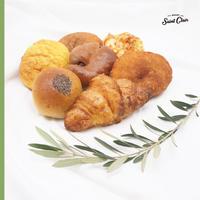 【送料無料】リベイク専用 詰め合わせパン7個セット