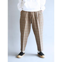 AN042  TUCK WIDE PANTS